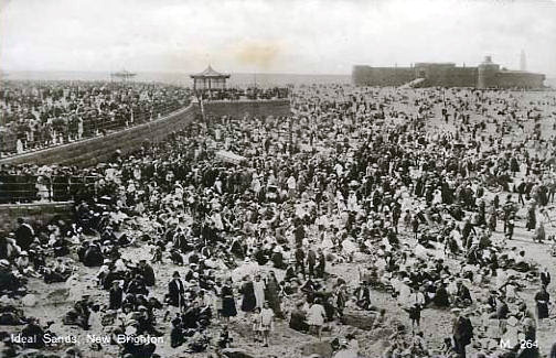 New Brighton Crowds 1930