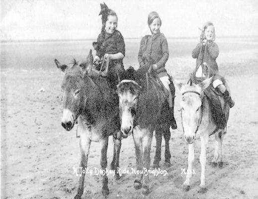 Donkey Rides on the Beach 1918