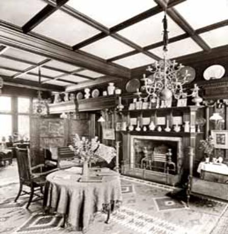 Mere Hall Dining Room 1882